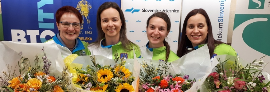 Dvoršakova, Kuharičeva in Maček poskrbeli za sanjski uvod v sezono